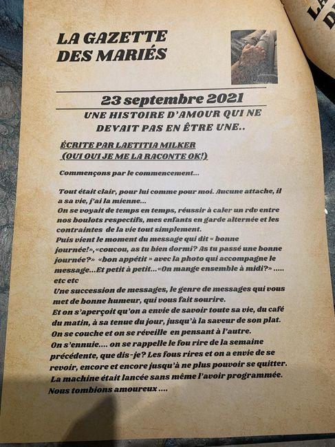 Gazette des mariés - 2