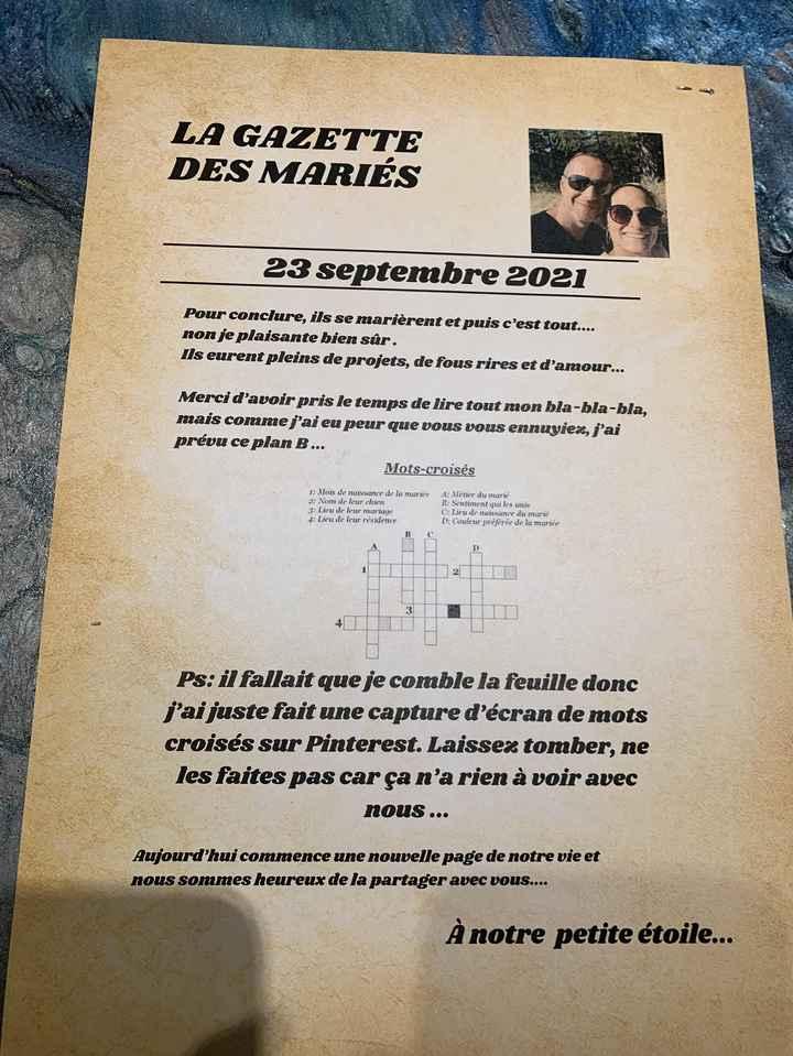 Gazette des mariés - 4