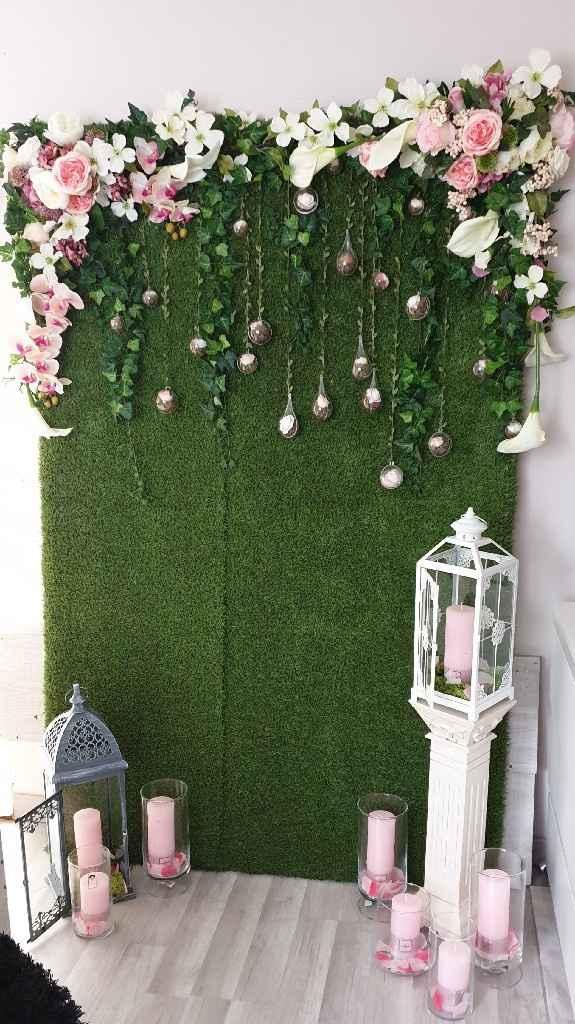 Mur végétal photobooth diy - 1