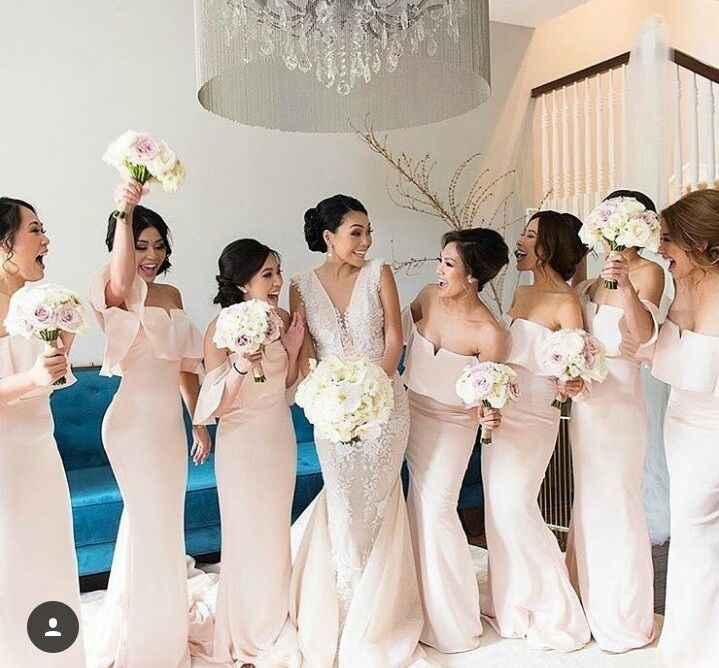 Mariage thème blanc touche de rose - 3