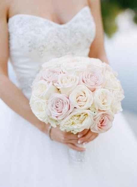 Mariage thème blanc touche de rose - 4