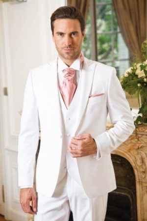 Mariage thème blanc touche de rose - 6