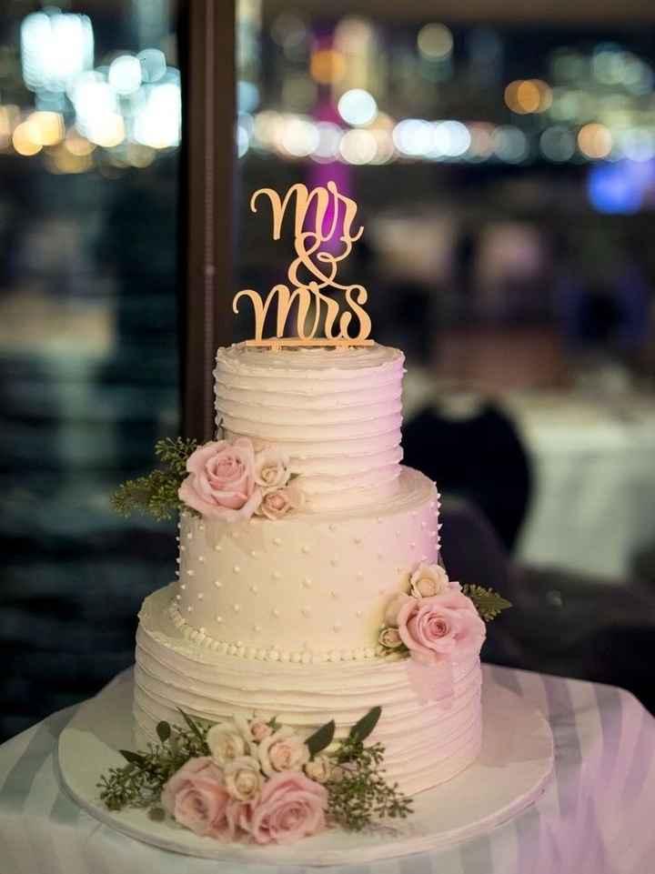 Le wedding cake 🌸🌼 - 2
