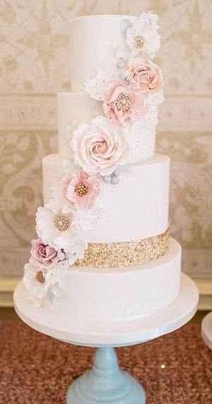 Le wedding cake 🌸🌼 - 3