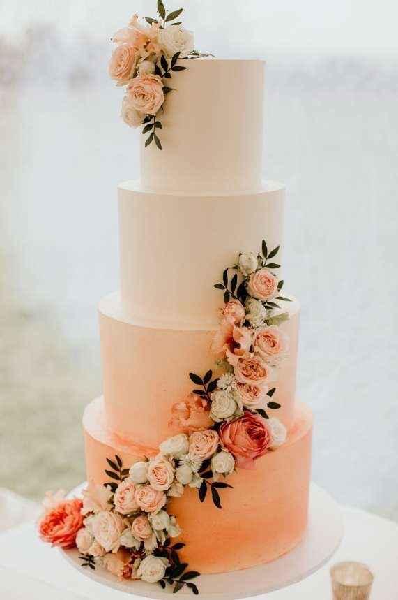 Le wedding cake 🌸🌼 - 4