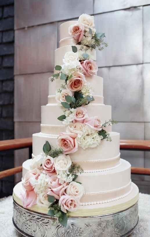 Le wedding cake 🌸🌼 - 5