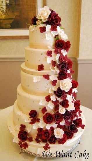 Le wedding cake 🌸🌼 - 7