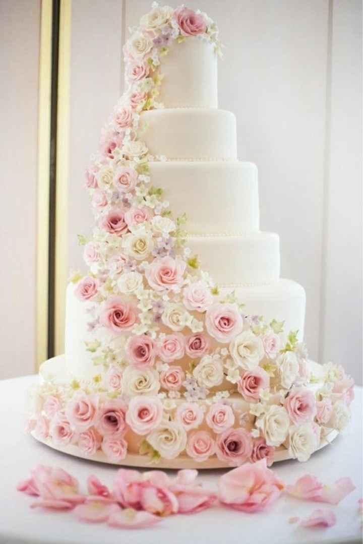 Le wedding cake 🌸🌼 - 8