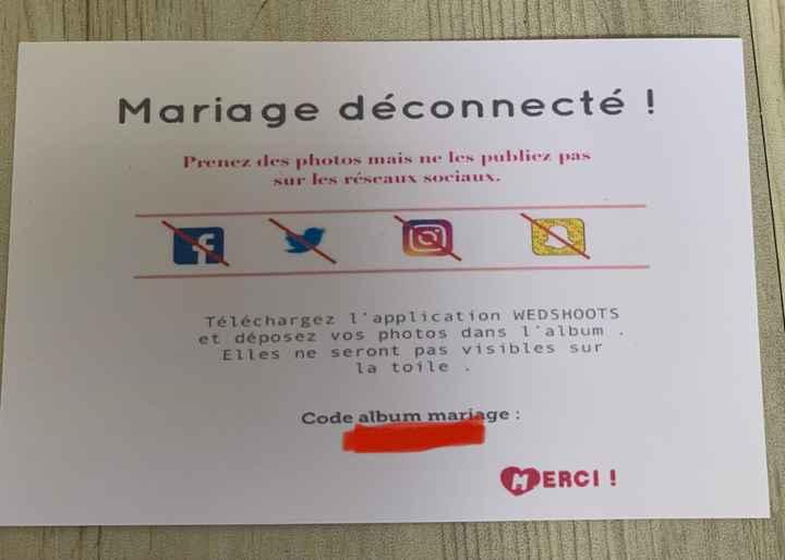 Mariage déconnecté 🌻 - 1