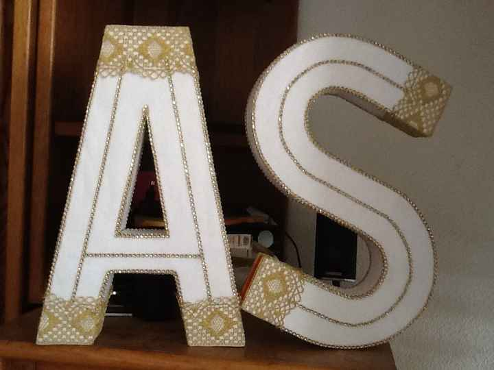 DIY initiales