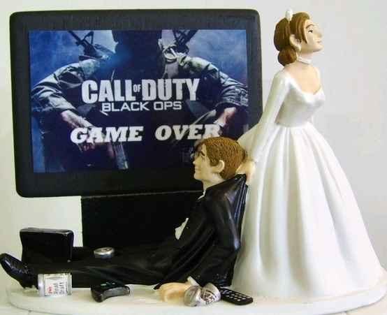 Figurine mariés - 2