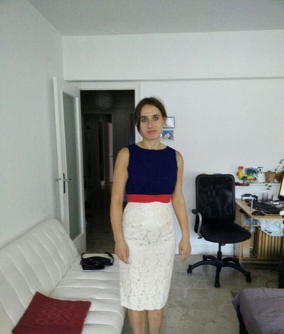 Ma robe pour la marie