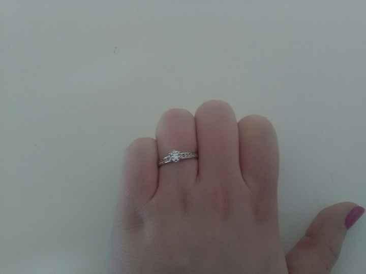 Enfin reçu ma bague de fiançailles !!! - 1