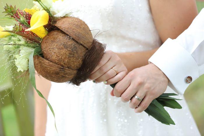 Le bouquet de mariée rose 🤗!!! 1