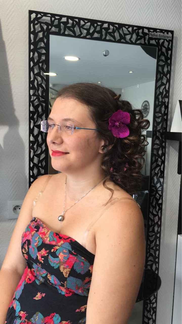 Essai coiffure et maquillage - 2