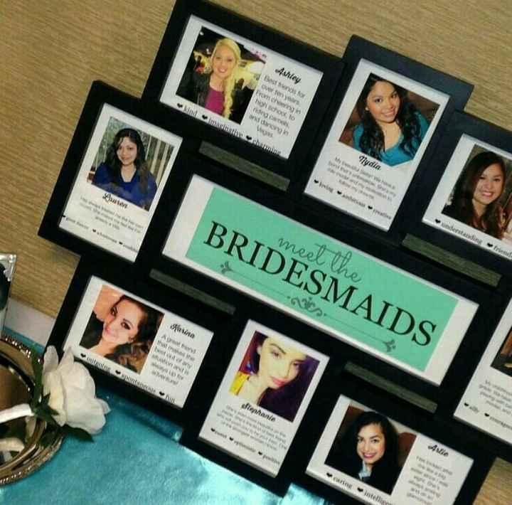 Souvenir des témoins ou bridesmaids - 1