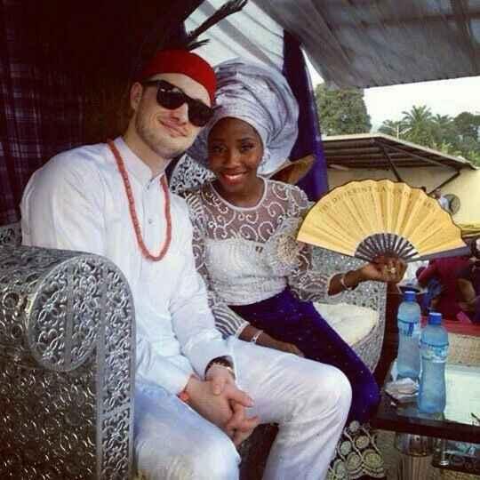 Mariage mixte- tenue traditionnelle - 2