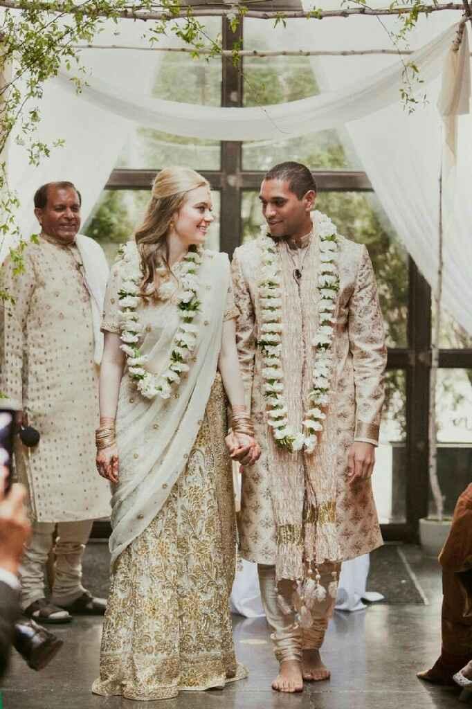 Mariage mixte- tenue traditionnelle - 4
