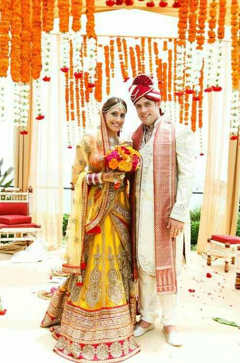 Mariage mixte- tenue traditionnelle - 7