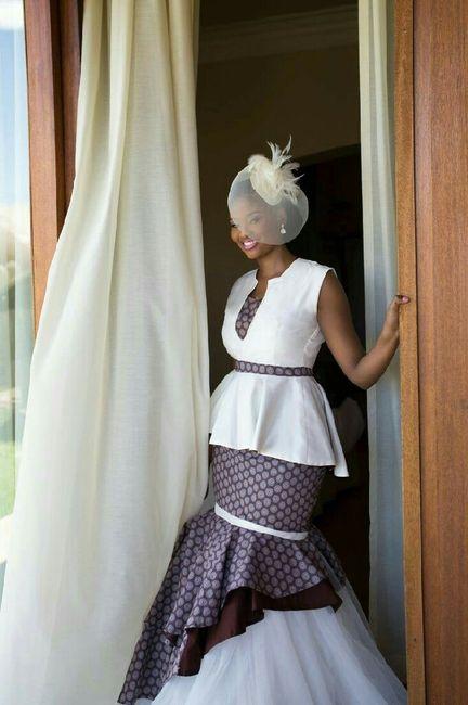 Mariage mixte- tenue traditionnelle - 5