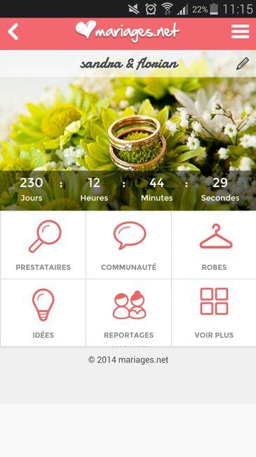 Compte a rebours page 2 organisation du mariage forum - Compte a rebours mariage ...