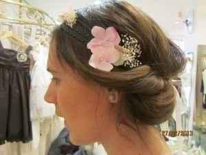 idée fleur cheveux