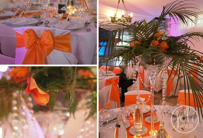Decoration de table theme afrique d coration forum Deco de table orange
