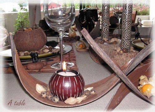 Decoration de table theme afrique - Décoration - Forum Mariages.net