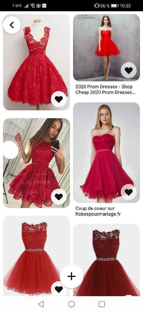 Recherche robes demoiselles d'honneur - 1