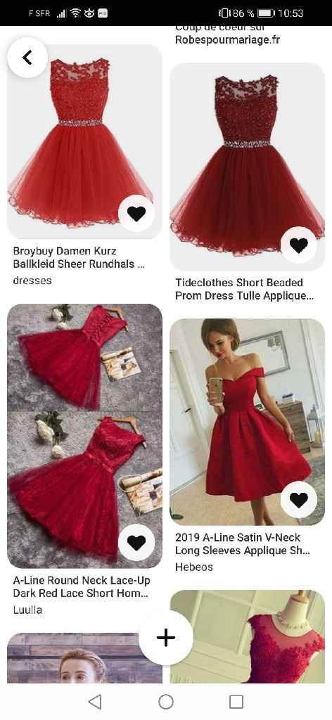 Recherche robes demoiselles d'honneur - 2