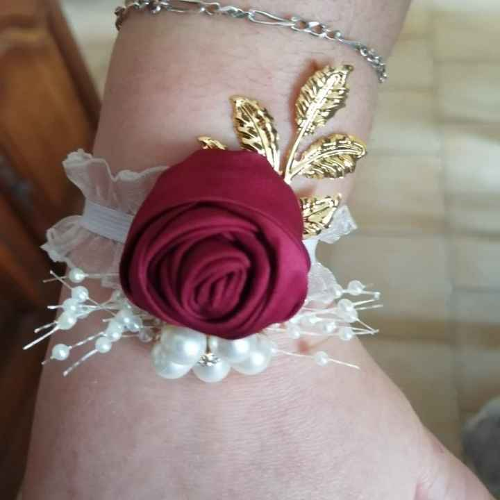 Bracelet fleurs Ali - 3