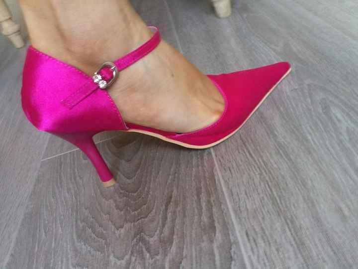 Mes chaussures Fuchsia
