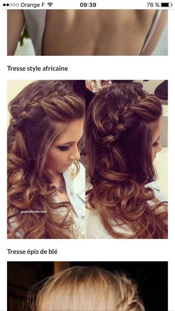 La coiffure - 1