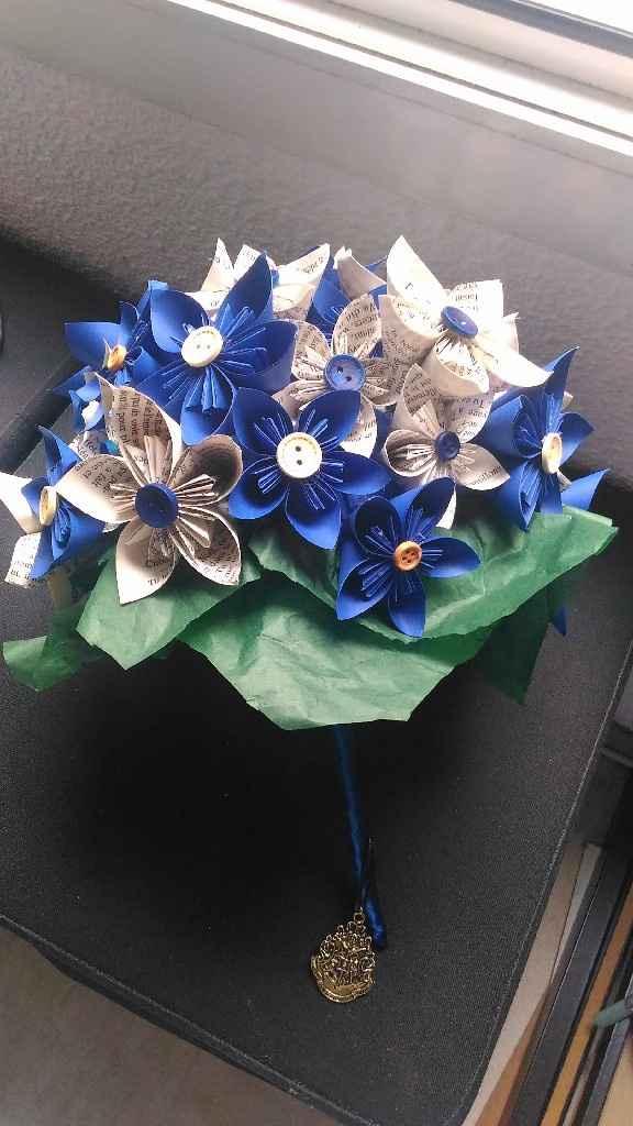 Déco table : fleurs artificielles - 2