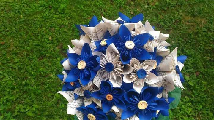 Déco table : fleurs artificielles - 3
