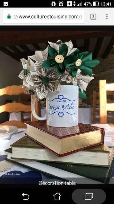 Notre décoration de mariage sur le thème des livres 8