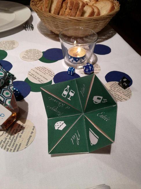 Notre décoration de mariage sur le thème des livres 2