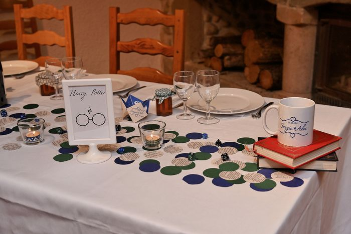 Notre décoration de mariage sur le thème des livres 5