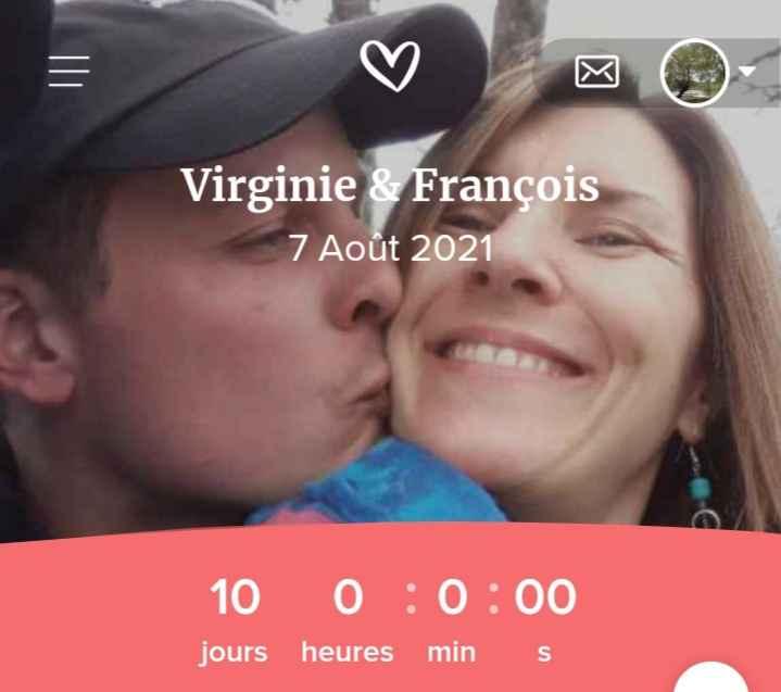 Ton mariage approche ? Le compte à rebours est lancé ! ⌚ 2