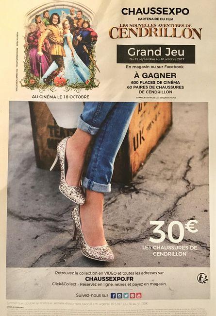 Chaussures de Cendrillon - 1