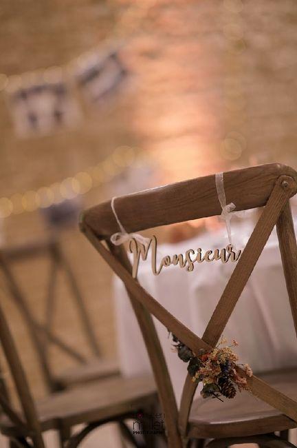 Vos chaises de réception.... 2