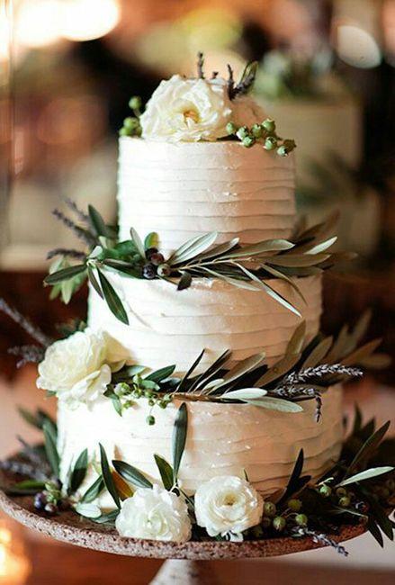Budget wedding cake - 1