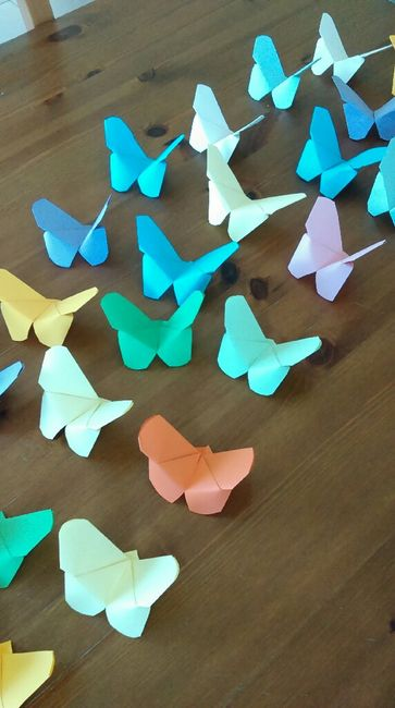 Origami papillons suite - 1