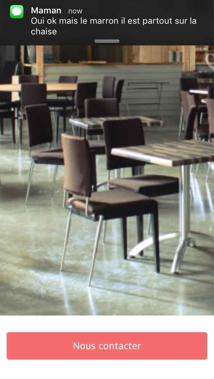 Déco de chaise - 1