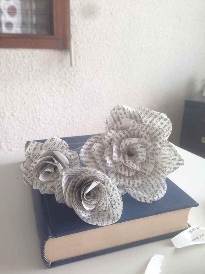 Fleurs en papier - 4