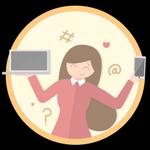 Blogueuse. Tu as ouvert 10 discussions ! Grâce à Internet, tu partages tes doutes et idées sans retenue. Cette médaille fait de toi une authentique blogueuse !