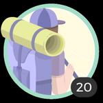 Aventurière (20). Ton goût pour l'aventure n'a pas de limites. Pour avoir participé à 20 discussions, voici un joli petit insigne en souvenir.