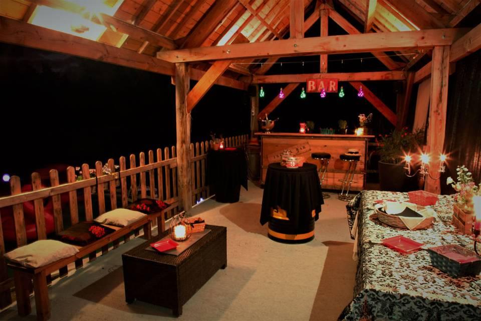Terrasse de la piscine Lounge