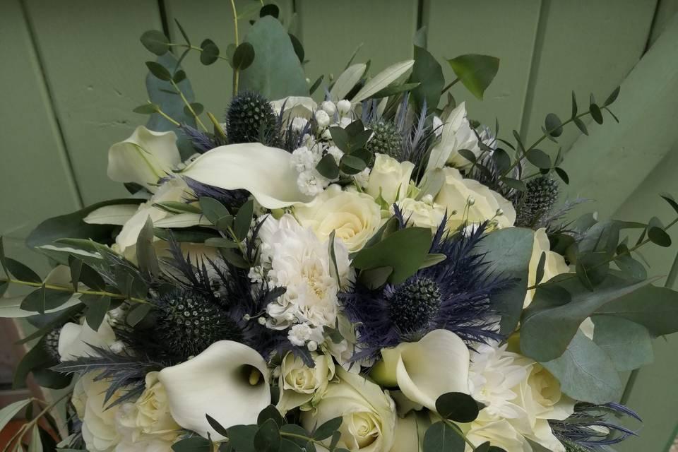 Bouquet chardons