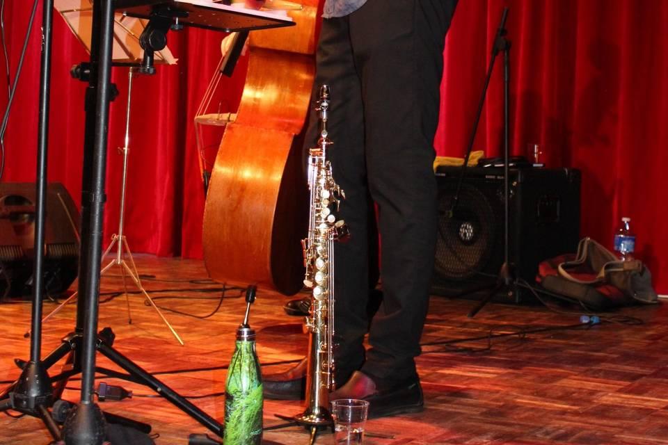Flûte / sax : Chabi